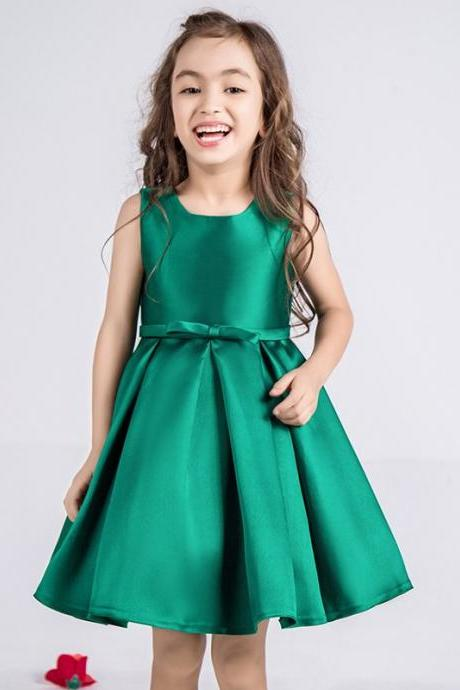 Hot Sale New Arrival 2-14 Years Kids Evening Gowns Flower Girl Dresses Weddings Child Party Dress