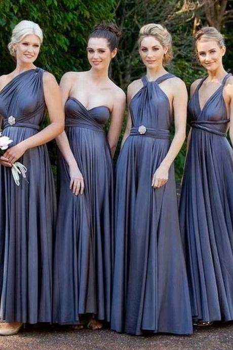 Hot Sale Simple Pleated Prom Dress,Fashion Bridesmaid Dress,Sexy Party Dress, New Style Evening Dress